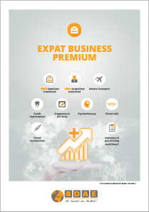 International health insurance Expat Business Premium