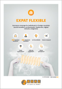 International health insurance Expat Flexible