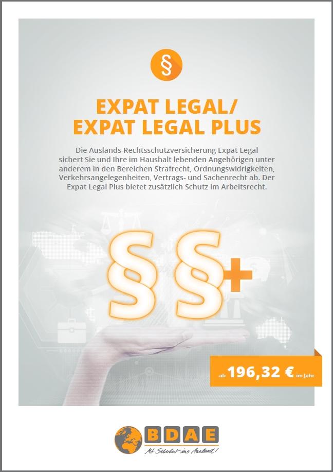Auslands-Rechtsschutz Expat Legal Plus
